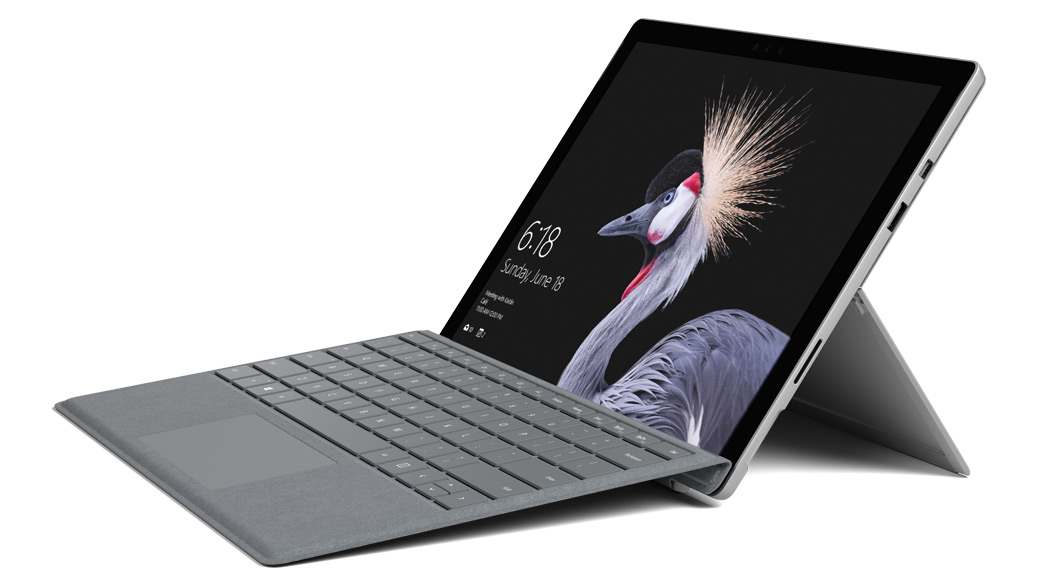 Surface Pro – Platin Grau