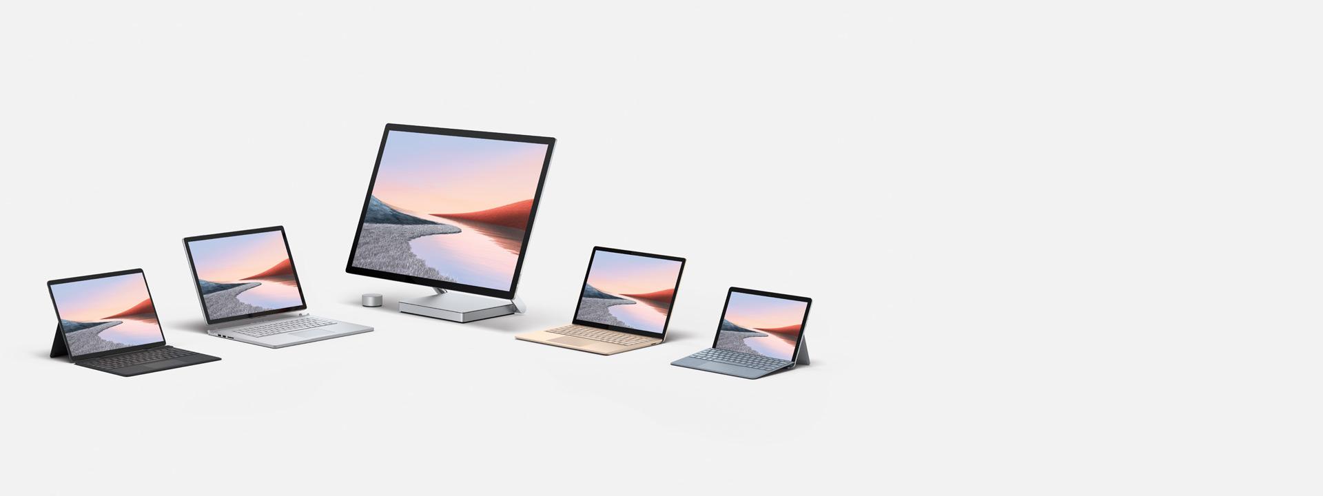 Neue Surface-Gerätefamilie