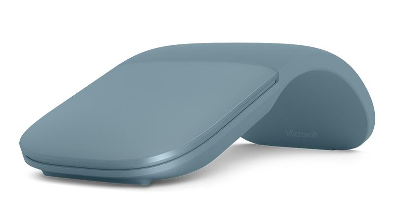 Surface Arc Mouse aus limitierter Edition in Wasserblau