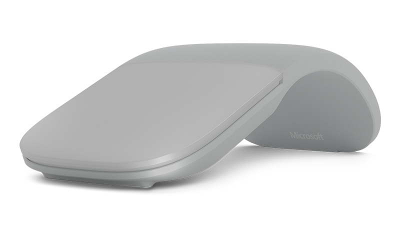 Surface Arc Mouse in Platin Grau