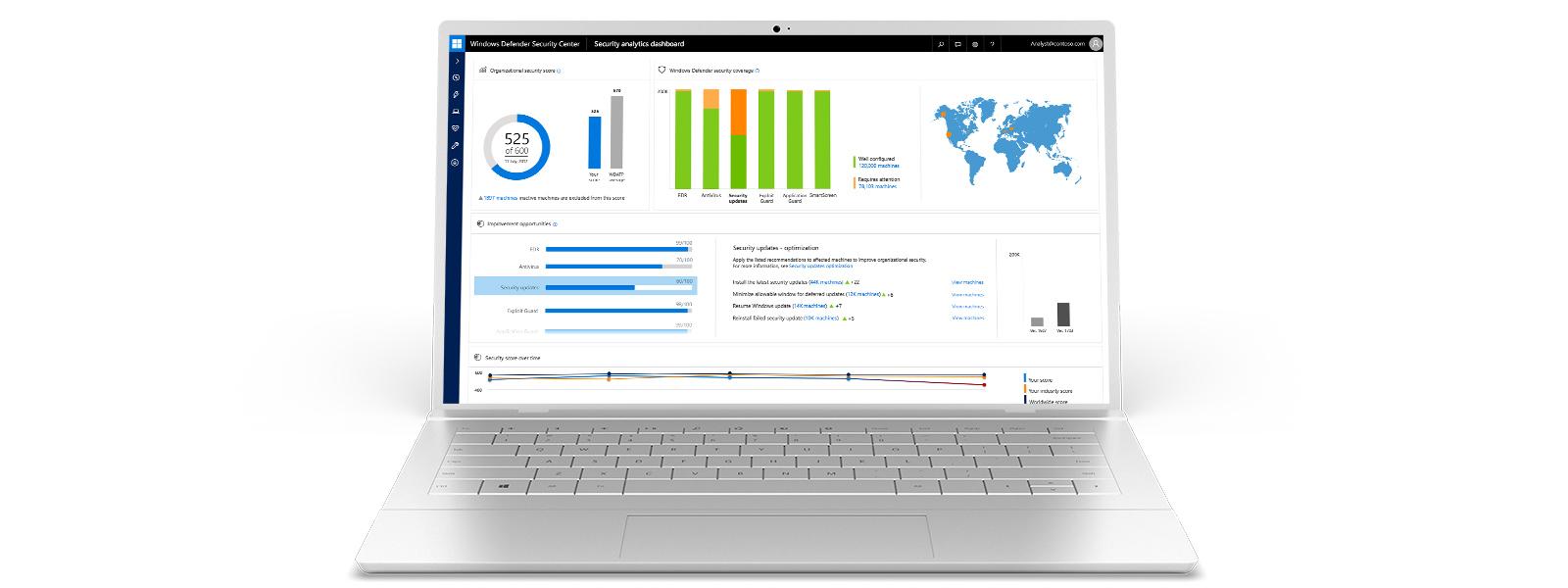 Windows 10 auf einem Surface Book