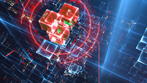 Ransomware-Grafik
