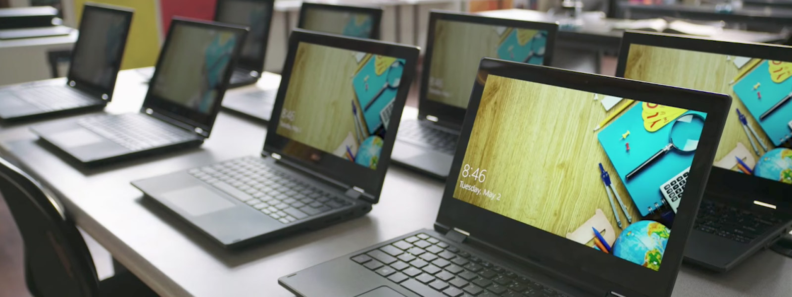 PCs im Klassenzimmer