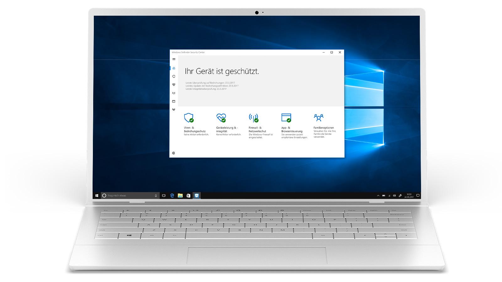 Windows10-Sicherheit