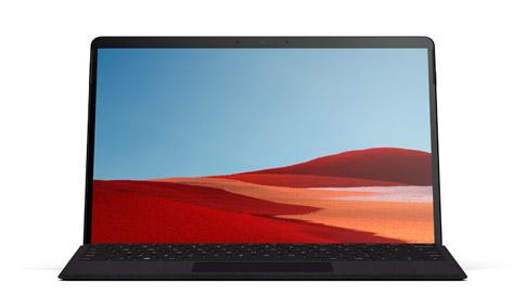 Surface Pro X mit Surface Pro X Signature Keyboard