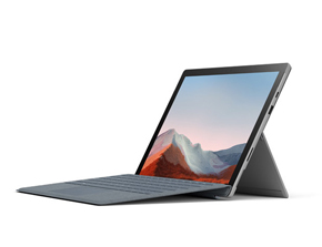 Surface Pro 7+ mit Surface Pro Signature Type Cover