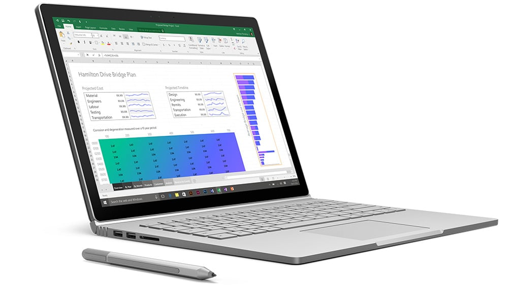 how to use surface book