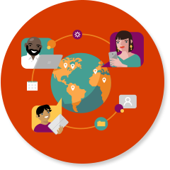 Shared network icon