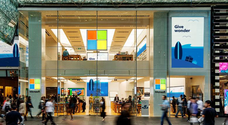 Microsoft Store at Westfield Sydney