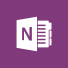 OneNote logo, the Microsoft OneNote home page