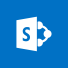 SharePoint logo, the SharePoint home page