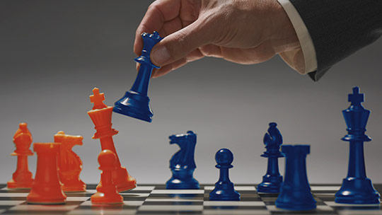 A chessboard. Try SQL Server 2016 for free.