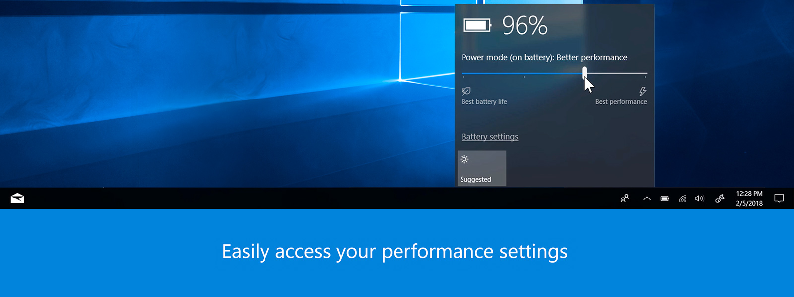 Still screen of save battery life video