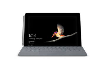 Front-facing view of Surface Go