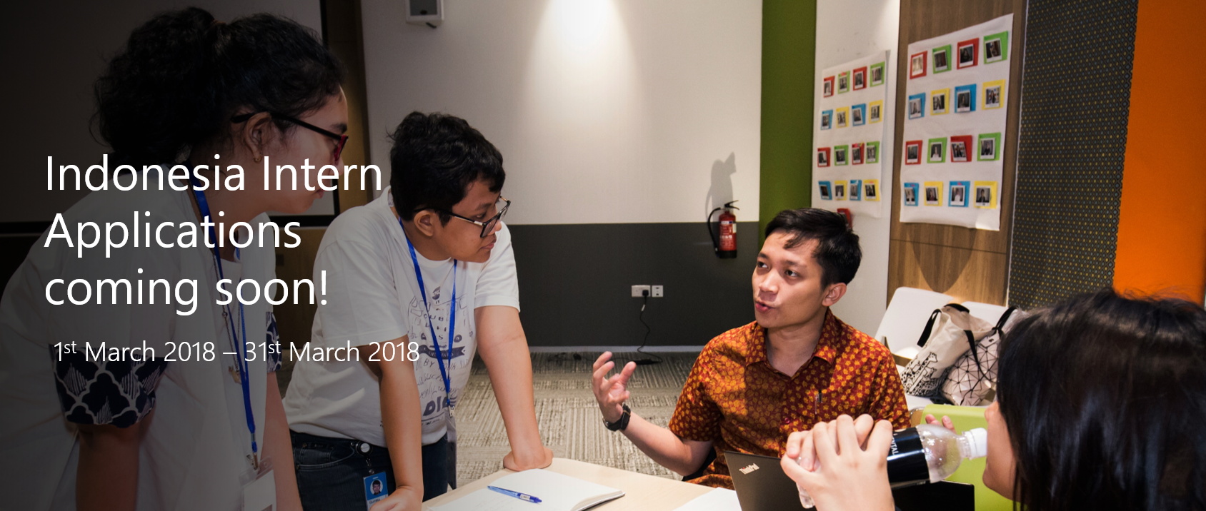 Indonesia Intern Applications coming soon!