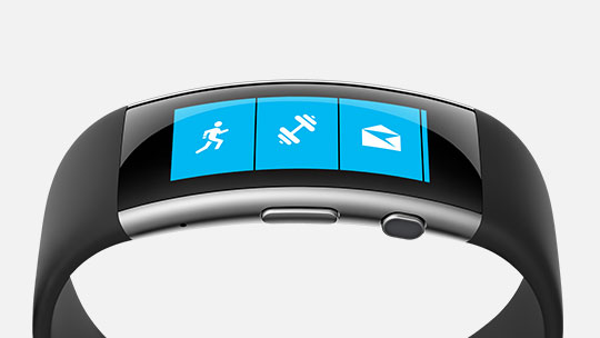 Live healthier and be more productive with the new Microsoft Band.