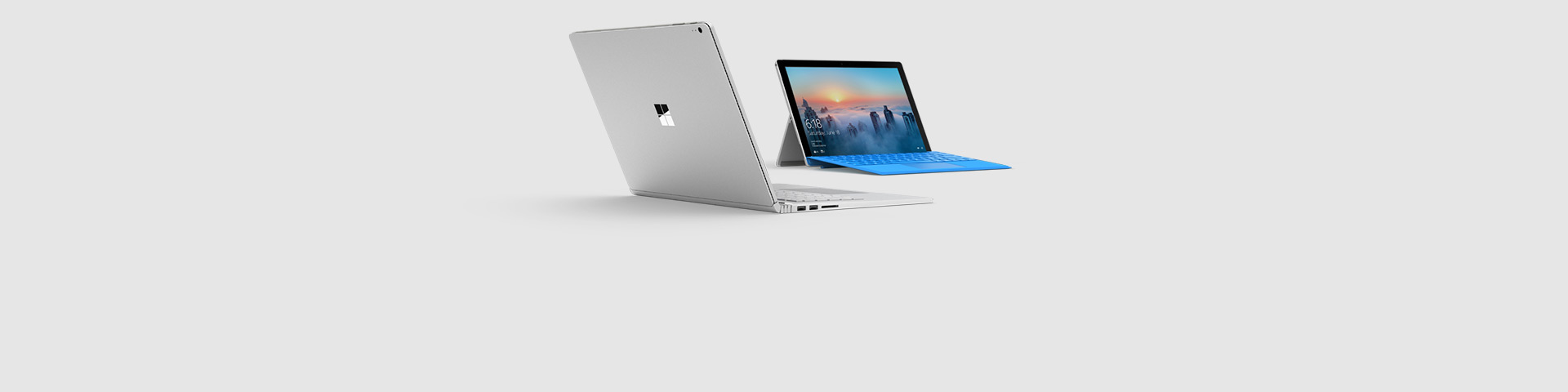 Two Surface devices