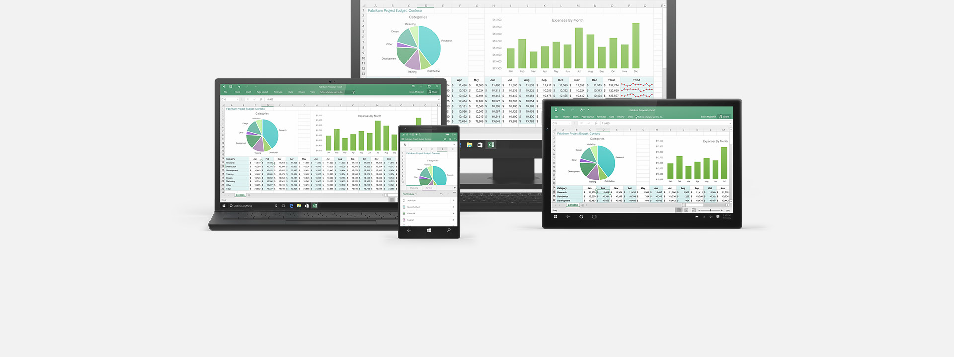 Multiple devices, learn about Office 365