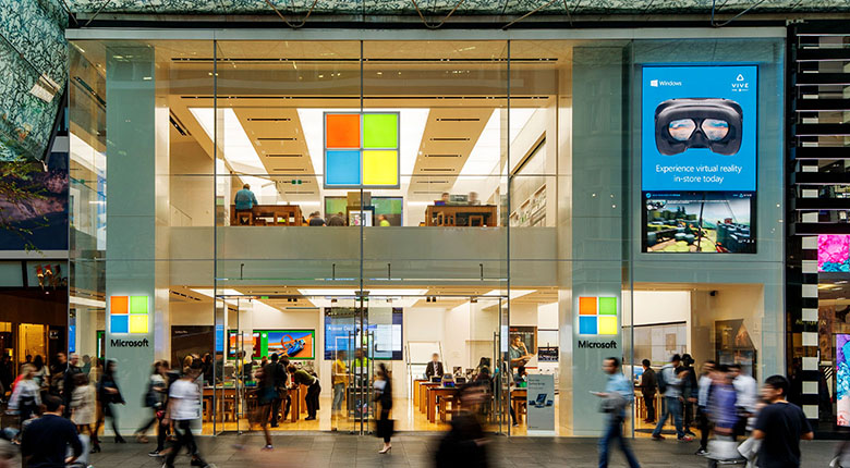 Microsoft Store at Westfield Sydney