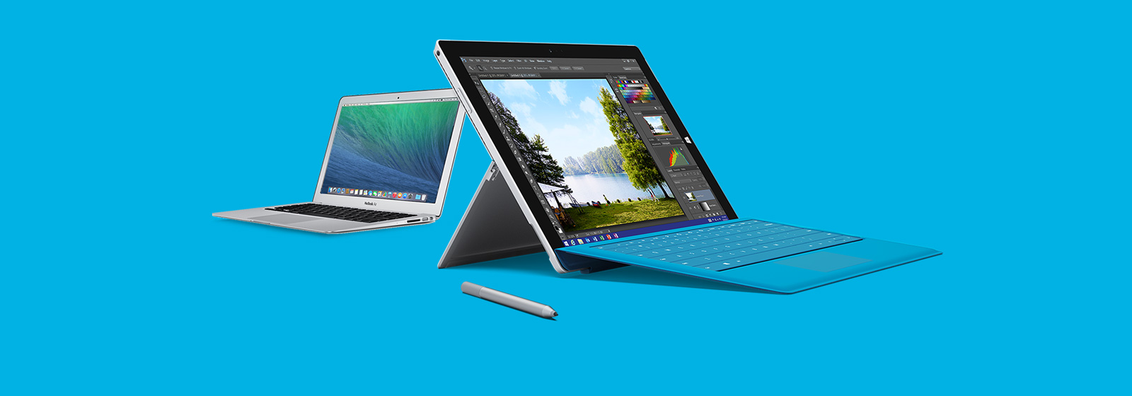 See how Surface Pro 3 stacks up against MacBook Air.