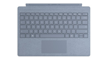 Surface Pro Signature Type Cover in Ice Blue