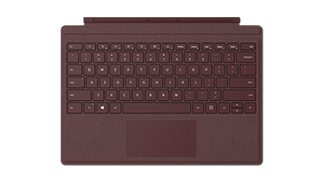 Surface Pro Signature Type Cover in Burgundy