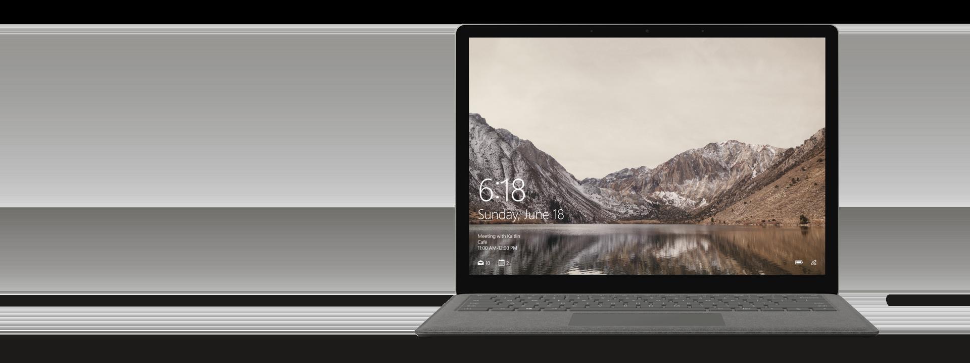 Graphite Gold Surface Laptop
