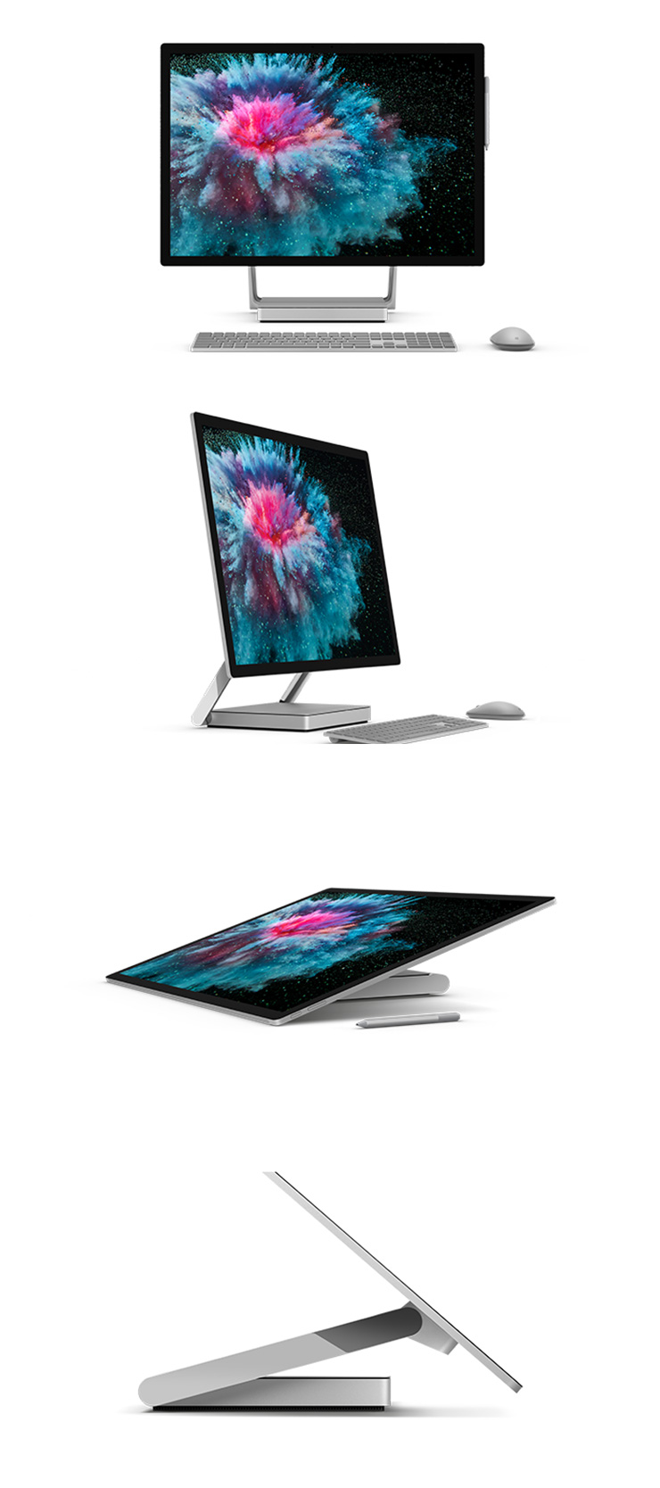 Surface Studio 2 facing front