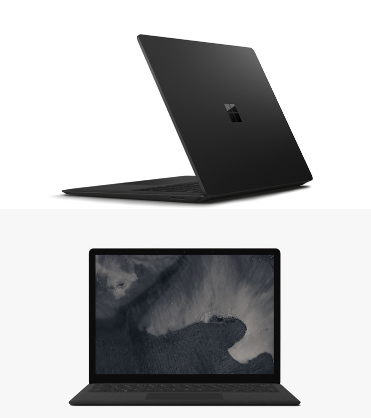 render of Surface Laptop 3