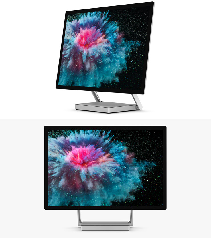 render of Surface Studio 2