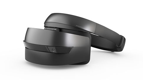 Windows Mixed Reality head-mounted displays (HMDs)