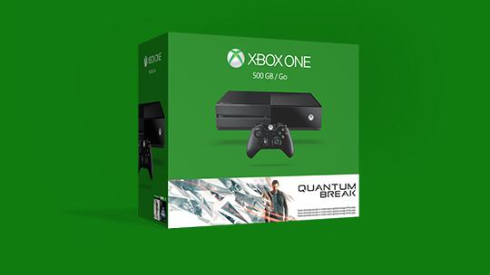 A boxed Xbox One Quantum Break bundle.