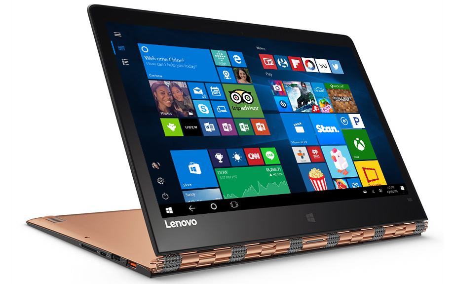 Buy the Lenovo Yoga 900 touchscreen from the Microsoft ...