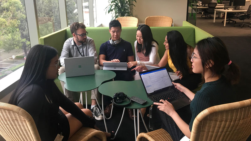 Margaret Chen, Microsoft Sydney Intern 2018