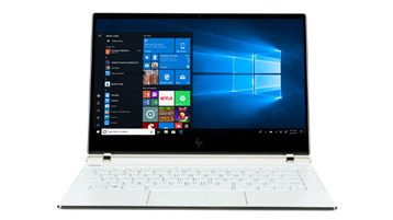 A Windows 10 2-in-1 device
