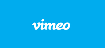 Vimeo logo, learn more about uploading videos to Vimeo