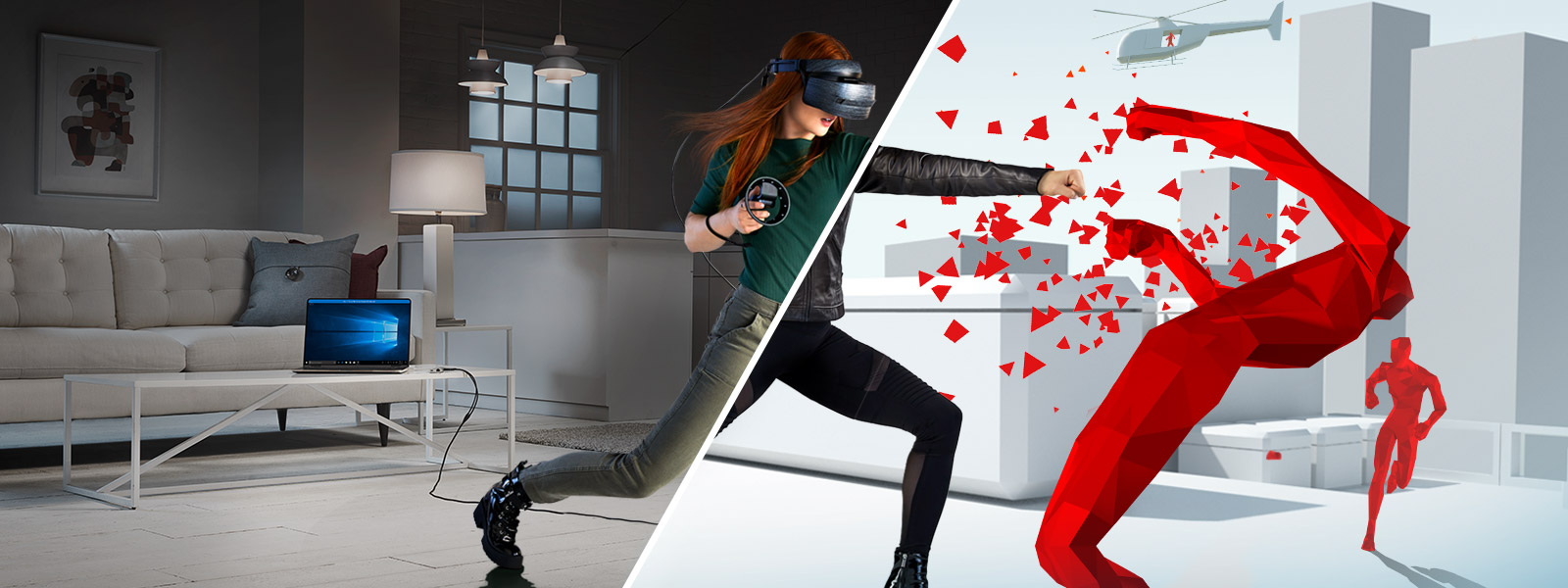 Superhot Windows Mixed Reality key art