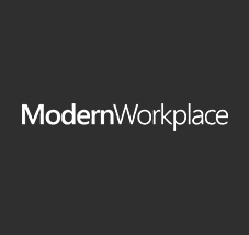 Modern Workplace logo, register to watch the latest episode of the Modern Workplace webcast series