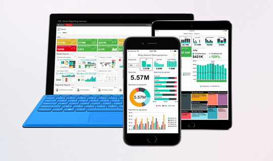 Bring the power of data to every user in your organisation with BI and analytics