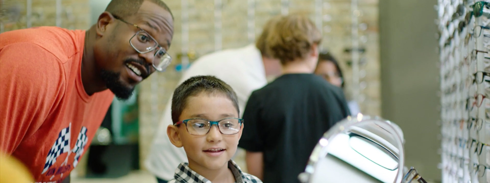 Von Miller provides low-income Denver children with eye care and corrective eyewear through Von's Vision.