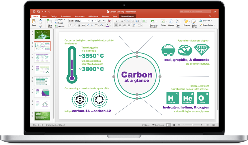 Discover new apps & product features in Office 2016 for Mac