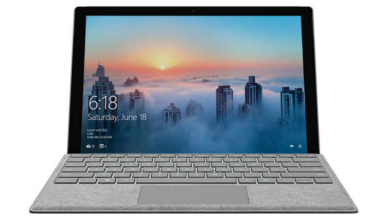 Surface Signature Type Cover with Surface Pro
