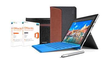 Surface Pro 4 Essentials Bundle