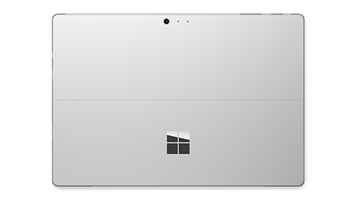 Detail of Surface Pro 4 back panel view