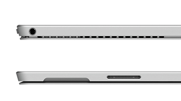 Detail of Surface Pro 4 expansion ports side views