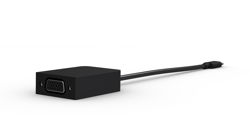 Surface USB-C to HDMI and VGA Adapters for Surface Book 2.