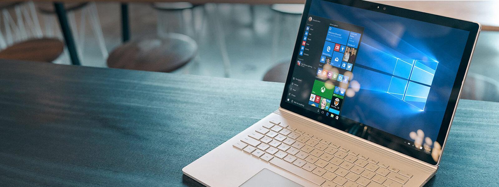 Windows 10 device.