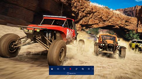 Game bar in Game Mode