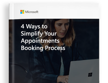 first page of the eBook titled 4 Ways to Simplify Your Appointments Booking Process, page where you can download the eBook