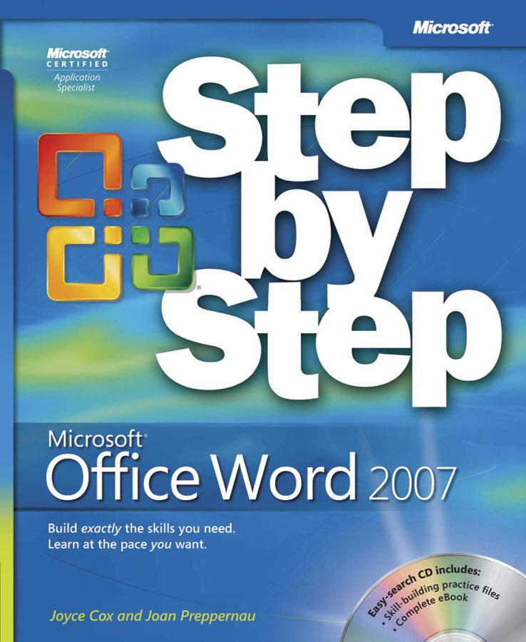 Exam 77 601 Mos Using Microsoft Office Word 2007